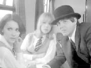 With Pru Bury and Paul in A Hard Day's Night