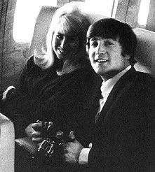On the flight to America, 1964